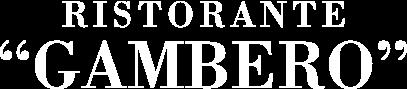logo ristorante gambero